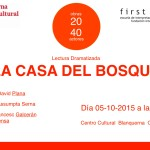 ciclo 20 40 la casa del bosque, fundacion internacional first team, escuela actores assumpta serna madrid